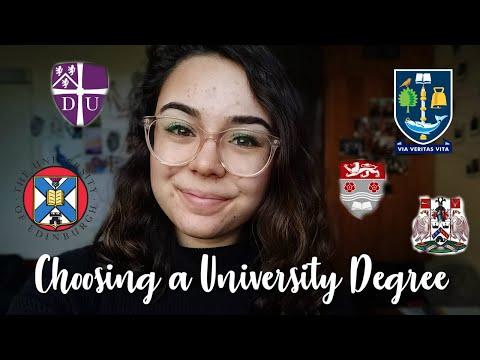 How To Choose A University Degree // Durham University