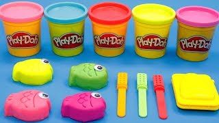 Learning 3 Colors Ice Cream with Play Doh for Kids | Learn Numbers, Baby Shark, Surprise Toys