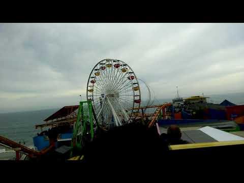 West Coaster (On Ride - Rear Seat) - (HD POV) - Pacific Park Santa Monica Pier