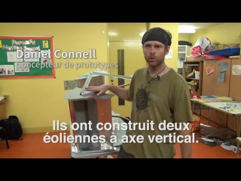 Daniel Connell Has Built A Wind Turbine For 30 Euros - Le Monde