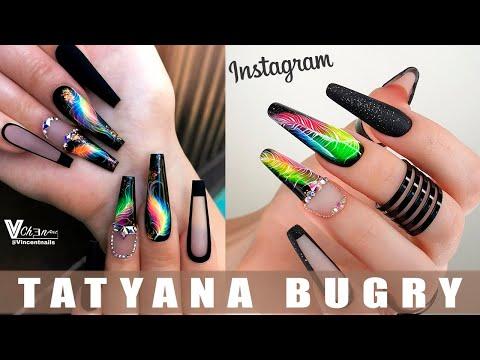Повторяю МАНИКЮР из Instagram/ Наращиваю Ногти БАЛЕРИНА/   Татьяна Бугрий
