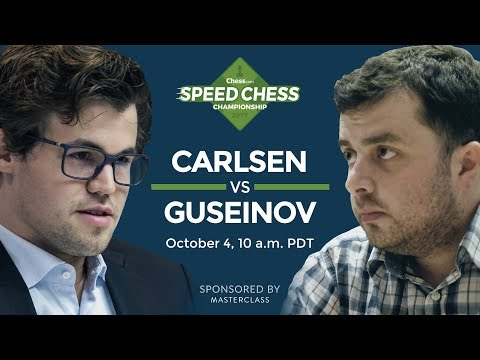2017 Speed Chess Championship: Magnus Carlsen Vs Gadir Guseinov