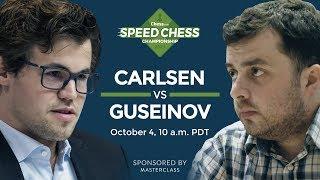 2017 Speed Chess Championship: Magnus Carlsen Vs Gadir Guseinov