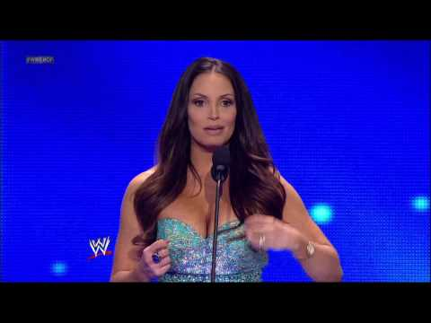 Trish Stratus is honored by her peers and the WWE Universe: 2013 WWE Hall of Fame Induction Ceremony