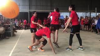 Trận chung kết bóng chuyền hơi nữ   Quốc Oai - Yên Nghĩa S1