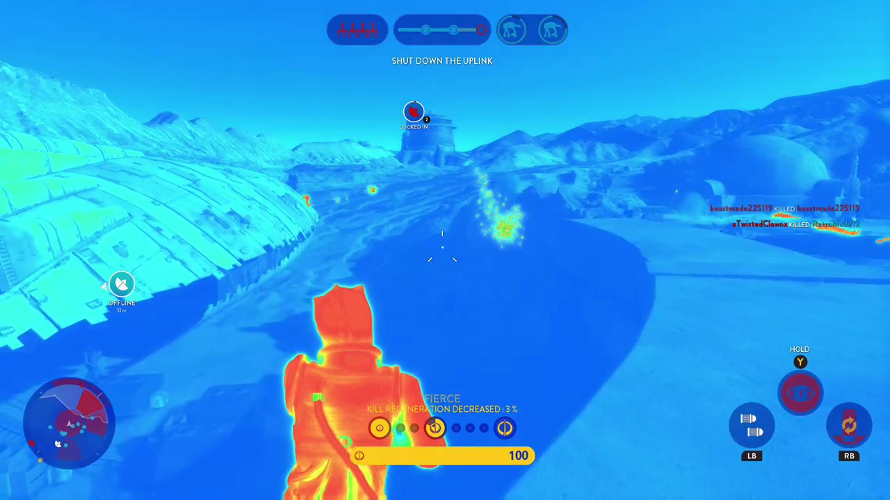 Starwars Battlefront Bossk Gameplay