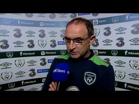 Republic of Ireland v Uruguay - post-match interview - Martin O'Neill (4/6/17)