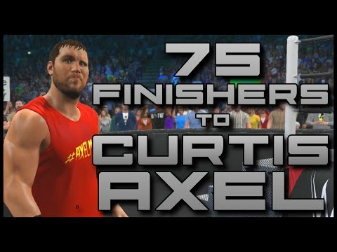 wwe 2k15 75 finishers to curtis axel ps4 wwe 2k15