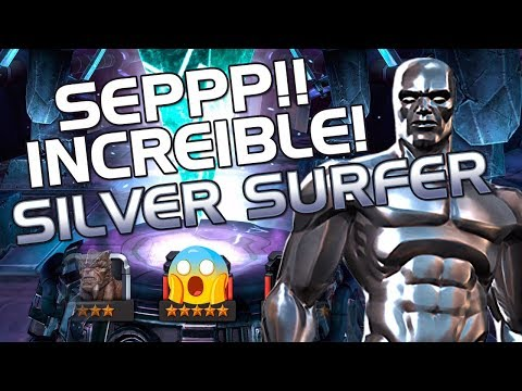 INCREIBLE! Sillver POR FIN! | Marvel Contest Of Champions
