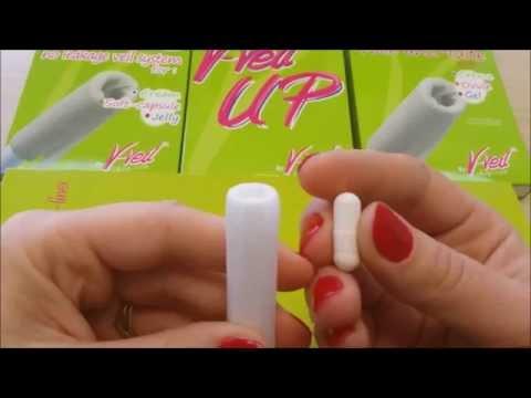Applicateur D'ovule Avec Voile Anti-fuite V-Veil-UP By V-Veil-Shop