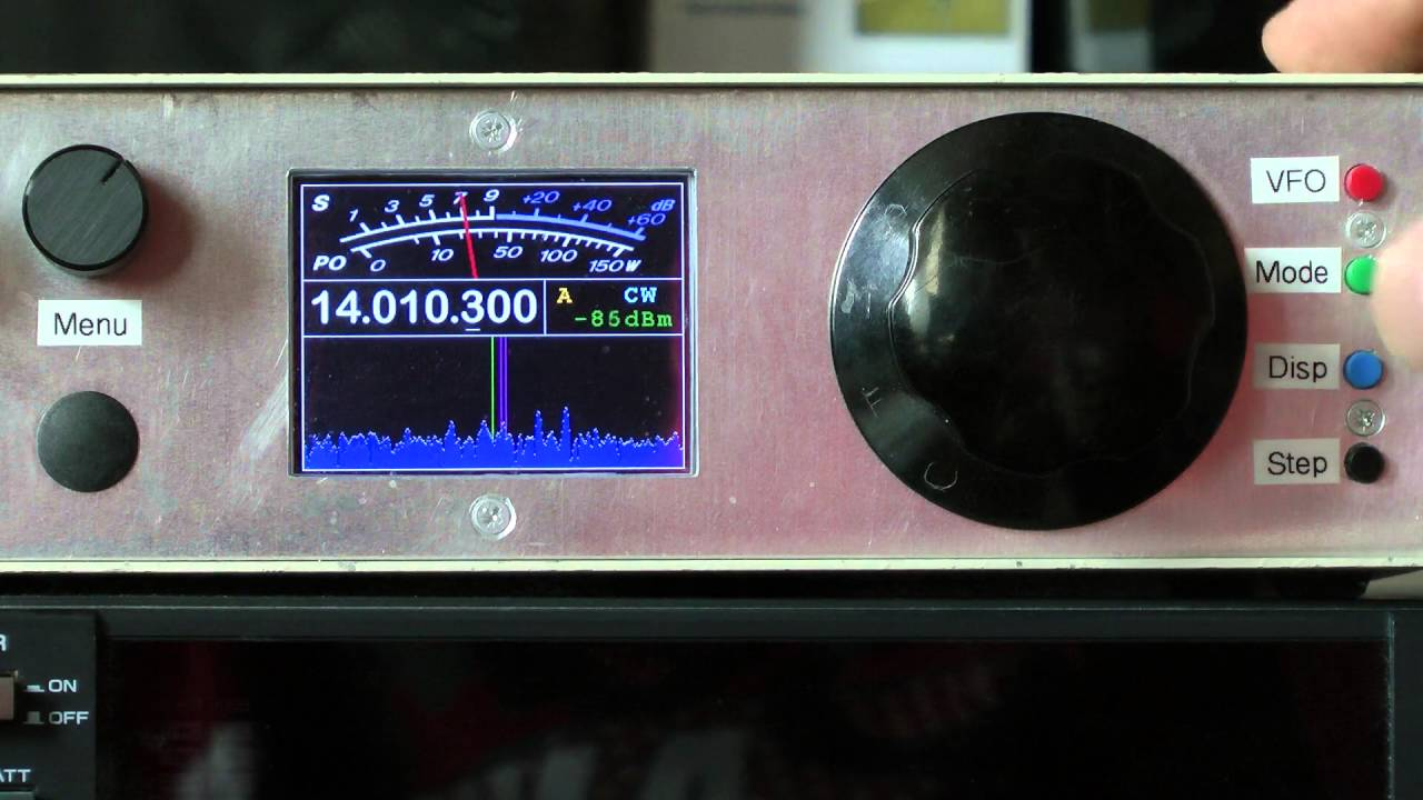 Home-Brew HF SDR Receiver by G0ETP