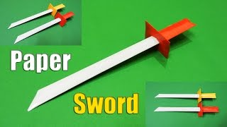 How to make a Paper Sword | Easy | Tutorial
