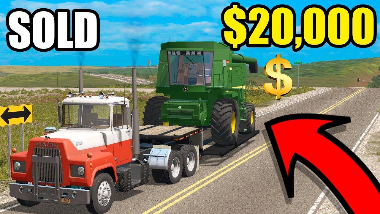We Sold Both Combines | Farming Simulator 2017 | Ep#42  Squad Farms 27:21 HD