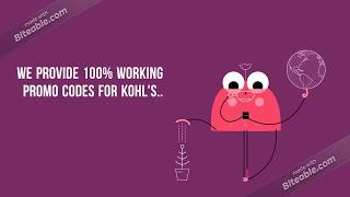 Grab Latest  2018 100% Working Kohl's Coupon and Promo Codes