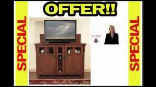 Best Price Touchstone Bungalow Tv Lift Cabinet For Flat Screen Tv's Up To 55