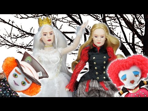Alice Through the Looking Glass Alice and White Queen Dolls and Plushie Reviews