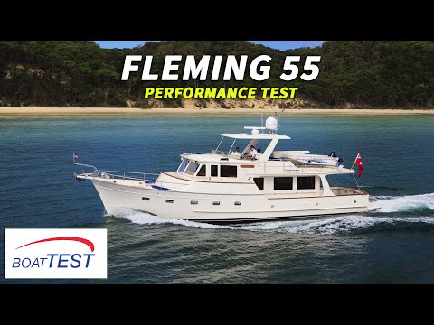 Fleming Yachts 55 (2018-) Test Video - By BoatTEST.com