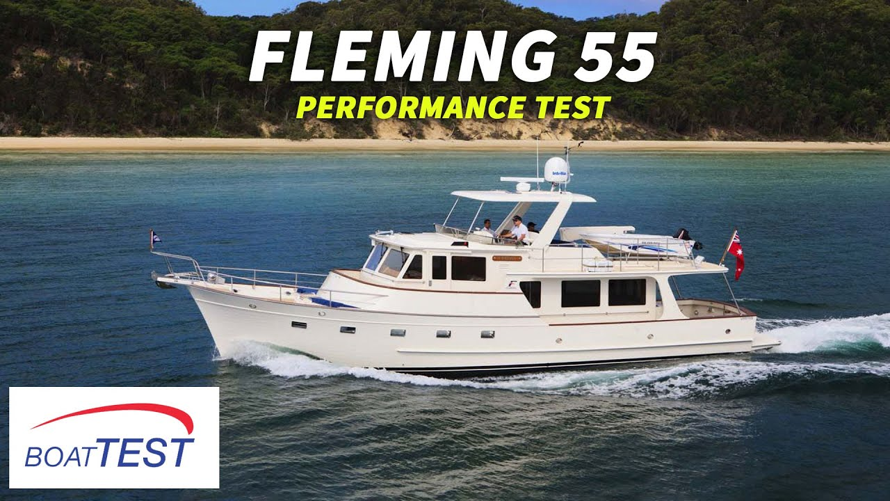 Fleming Yachts 55 (2018-) Test Video - By BoatTEST com