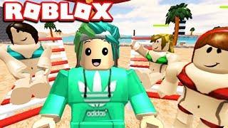 NEW MINING GAME! THE BEACH SIMULATOR IN ROBLOX