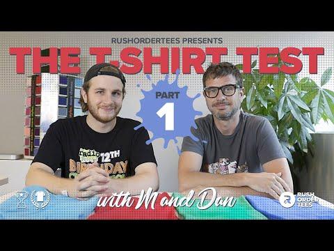 Cotton vs Poly vs 50/50 vs Tri-blends: The T-Shirt Test Part 1