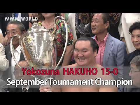 GRAND SUMO Highlights: Recap   Sep 2018 NHK WORLD-JAPAN