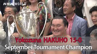 GRAND SUMO Highlights: Recap | Sep 2018|NHK WORLD-JAPAN