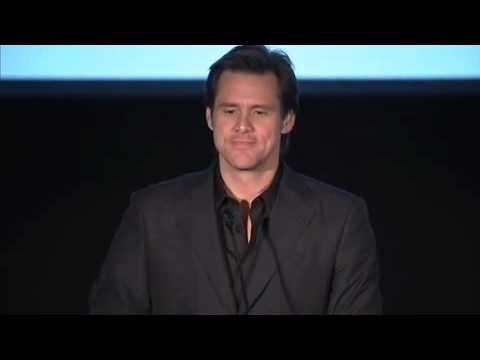 Jim Carrey introduces Eckhart Tolle