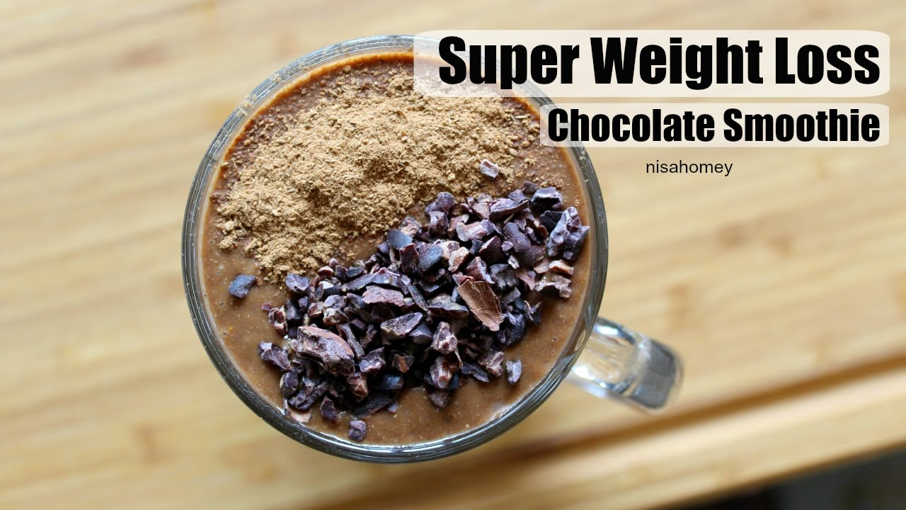 Super Weight Loss Chocolate Smoothie Shake Lose Weight Fast With Chocolate No Diet No Exercise
