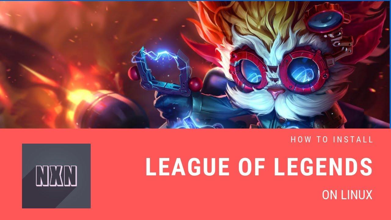 install league of legends ubuntu 16.04