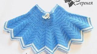 юбка детская крючком
