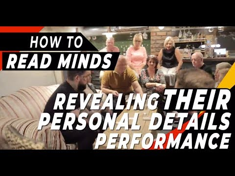 How To Read Minds (Trick 4 Of 20) - Performance