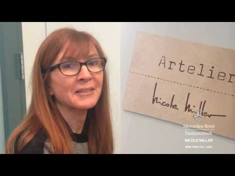 """""""NICOLE MILLER"""" Interview New York Fashion Week Fall Winter 2014 2015 by Fashion Channel"""