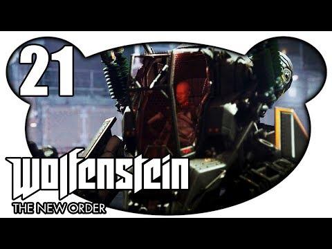 WOLFENSTEIN THE NEW ORDER #21 - Totenkopfs Ende | Finale (Let's Play Gameplay Deutsch)