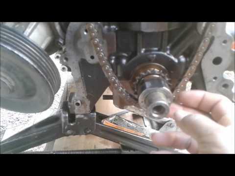 Cadena de tiempo paso a paso (Chevrolet Spark GT. s-tec ii 16v)