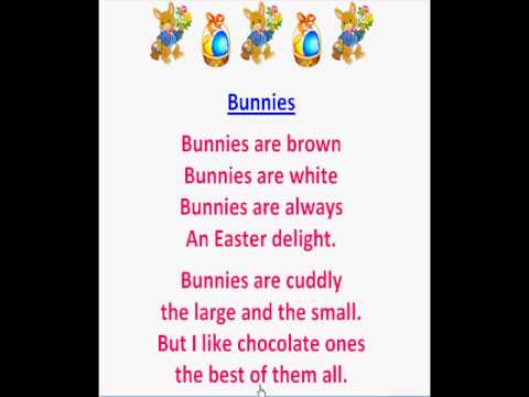 Bunnies (Easter Poems) - YouTube