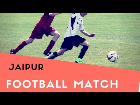 Football match in jaipur (red t shirt win ) sport#4