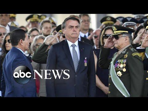 Brazil's president threatens