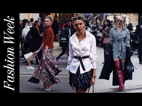 WHAT I WORE AT LONDON FASHION WEEK!