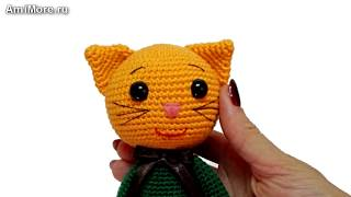 Амигуруми: схема Котик Тимофей. Игрушки вязаные крючком - Free crochet patterns.