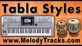 Tabla Styles for Yamaha PSR with indian Kit Styles for All Songs - General Styles Set 1
