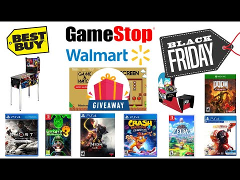 Black Friday Deals, Arcade1Up PreOrders, Game & Watch GiveAway, & PickUps | OCG Weekly #18 from Original Console Gamer