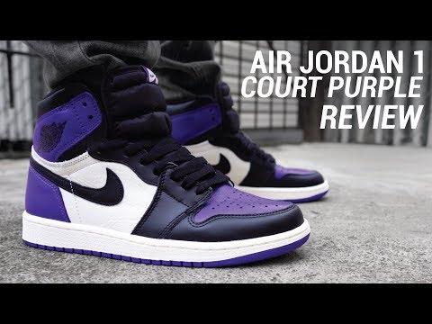 Air Jordan 1 Court Purple Review & On Feet