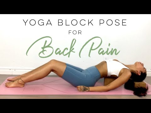 Yoga Block Pose To Relieve Back Pain, Anxiety & Improve Posture - Yoga To Feel Your Best