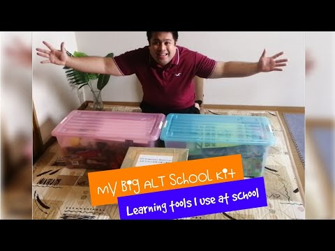 My ALT School Kit | Unboxing? | Learning Materials | Elem and JHS | Pinoy ALT | Vlog #54
