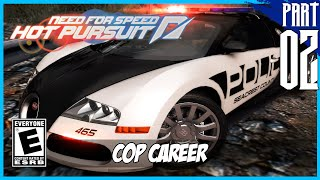 【Need for Speed: Hot Pursuit】 Cop Career Gameplay Walkthrough Part 2 [PC - HD]