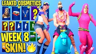 *NEW* All Leaked Fortnite Skins & Emotes..! *WEEK 8 SKIN* (BigFoot,Beach Bomber,Summer Skins)