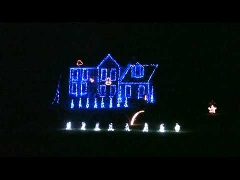 2013 Carol of the Bells Carpenters Duane Brown Animated Christmas Light Show