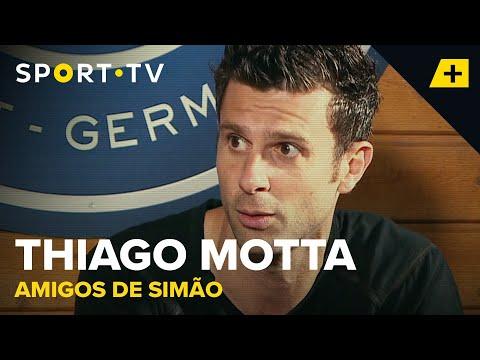 Amigos De Simão - Thiago Motta | SPORT TV