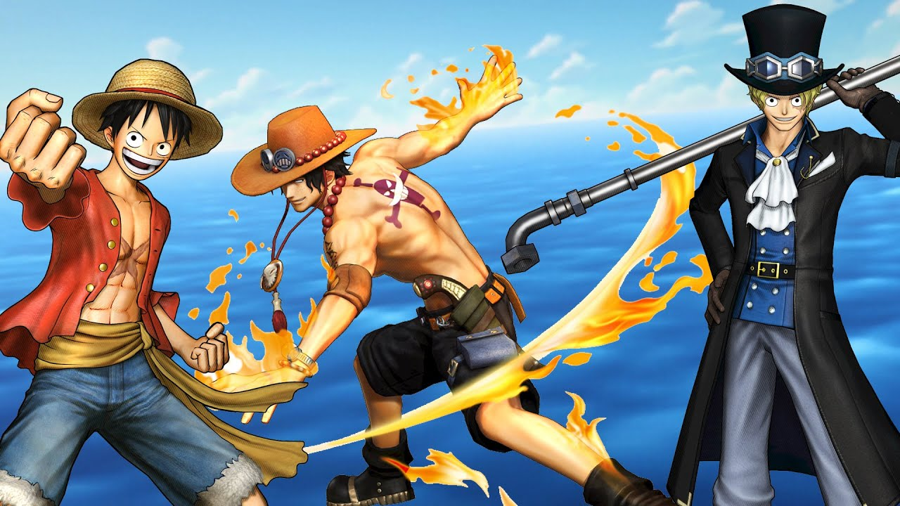 Default Iphone 7 Wallpaper Ps4 One Piece Pirate Warriors 3 Luffy Ace Amp Sabo S