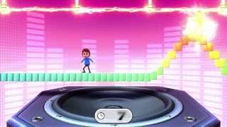 Wii Party U Minigame Showcase - Catch A Wave (1 vs Rivals)